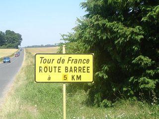 TDF Route Barrée