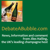 Link to Debate a Bubble - Champagne News and Reviews